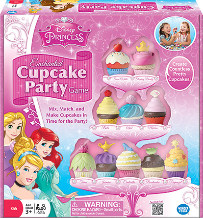 Disney Princess – Enchanted Cupcake Party™ Game