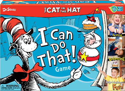 Dr. Seuss™ – The Cat in the Hat I Can Do That!® Game