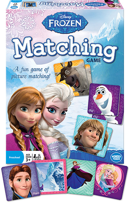 Disney Frozen – Matching Game