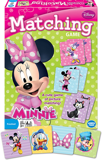 Disney Minnie Mouse – Matching Game