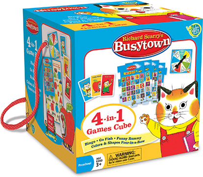 Richard Scarry's Busytown™ – 4-in-1 Games