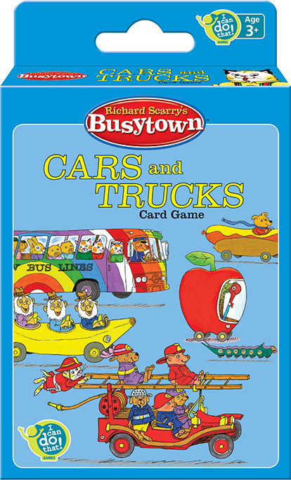 Richard Scarry's Busytown™ Cars and Trucks Card Game