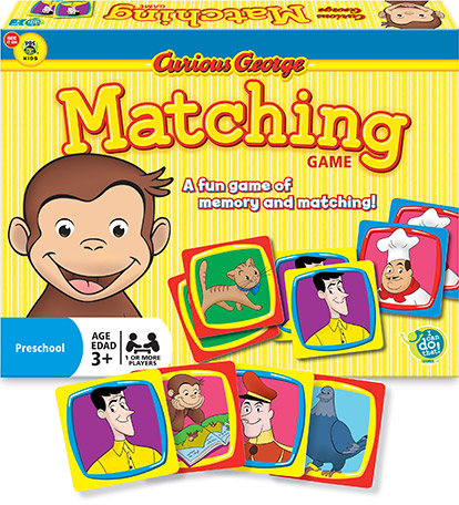 Curious George™ – Matching Game