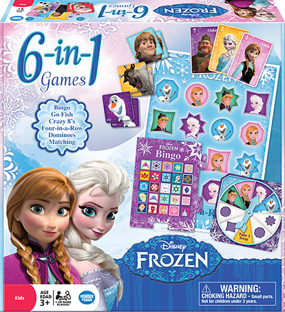 Disney Frozen – 6-in-1 Games