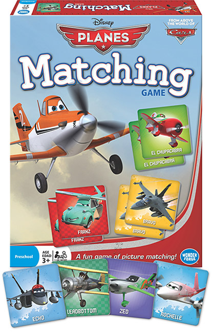 Disney Planes – Matching Game