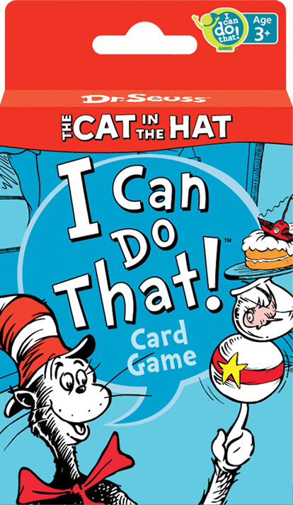 Dr. Seuss™ – The Cat in the Hat I Can Do That!® Card Game