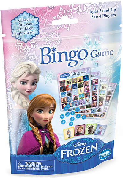 Disney Frozen – Bingo Game