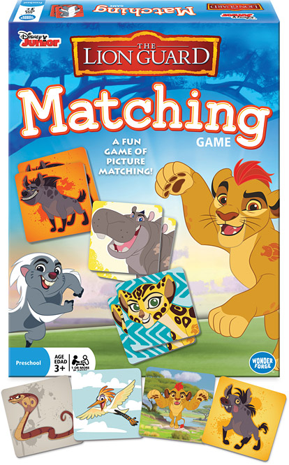 The Lion Guard Matching Game