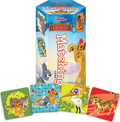 The Lion Guard Matching Game On-the-Go Edition