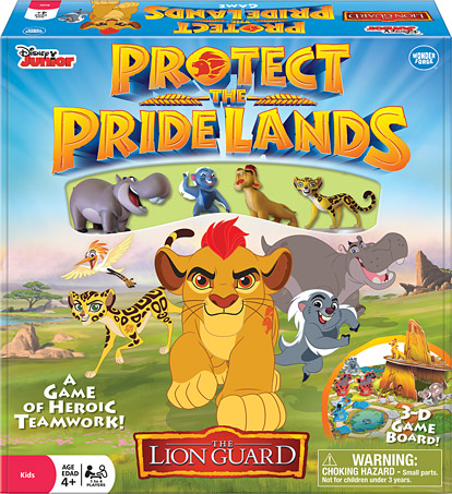 The Lion Guard Protect the Pride Lands