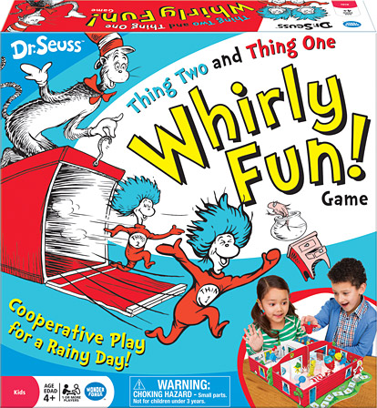 Dr. Seuss™ Thing Two and Thing One Whirly Fun!
